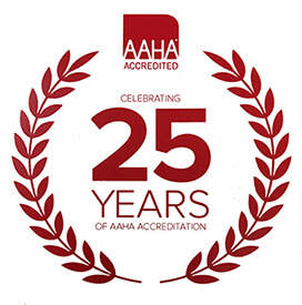 25 Years of AAHA Accreditation